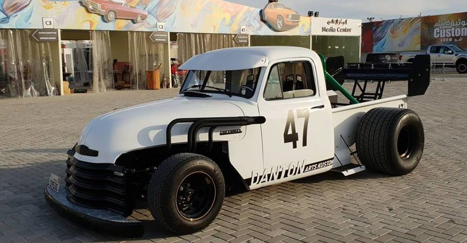 Chevrolet 3100 F1 Truck - DANTON ARTS KUSTOMS - Al-Wathba Custom Show in Abu Dhabi- 007